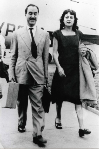 Lina Bo Bardi e Pietro Maria Bardi – 1947 Fotografia: Diario de São Paulo
