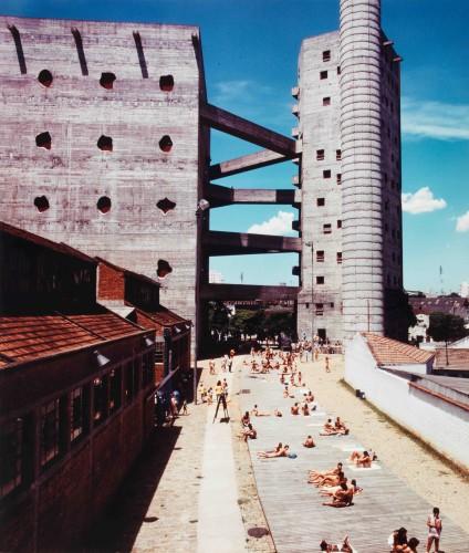 SESC Fábrica da Pompéia, 1977 Fotografia: Rômulo Fialdini